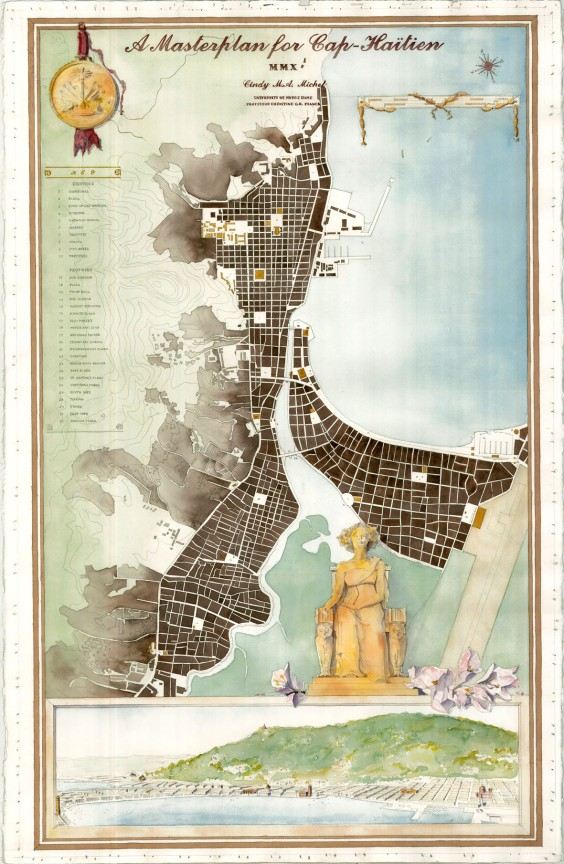 From Settlement to City: A Masterplan for Cap-Hatien, Haiti, 2010 © Cindy Michel