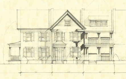 Multi-family Housing Sketch
