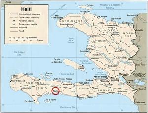 Map of Haiti