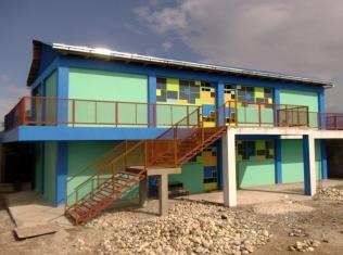 Ecole Baptiste Bon Berger - Pele, Simon Pele, Haiti, Client: Ecole Baptiste Bon Berger - Pele, Project Partners - Haiti Child Sponsorship, GiveLove, Stiller Foundation, Students Rebuild, Burtland Granvil - Staff Architect at Architecture for Humanity - Rebuilding Center